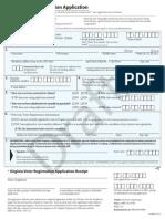 Proposed Voter Registration Form