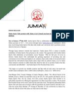 PRESS RELEASE SIMBA and JUMIA.docx