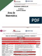 Área Matemática IV Ciclo_4º Rutas