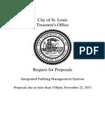 RFP Integrated Parking Management 2