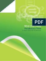 Vocabulario Time Intermedio
