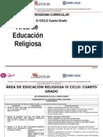 Educación Religiosa 4º Grado Rutas