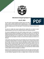 Mid Atlantic Regional Bargaining Report # 17