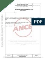 NMX-J-098-ANCE - Transformadores EPI