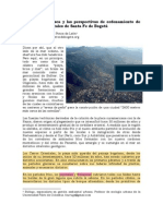 Historia Cerros de Bogota