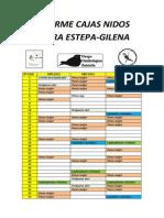 Informe Cajas Nidos Sierra Estepa