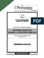Separata Especial Boletín 22-07-2015 Normas Legales TodoDocumentos.info