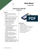 Ficha Técnica Disk on Chip