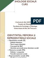 Psihologie Sociala Gavreliuc 13 Identitatea Memoria Si Reprezentarile Sociale