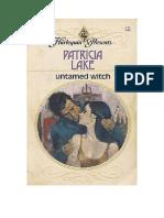 Harlequin Vintage - Untamed Witch - Patricia Lake 1981
