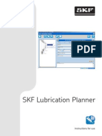 SKF Lubrication Planner Instructions for Use