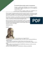 1 Investiga El Contexto Histórico Cultural de La Literatura Griega y Menciona a Sus Representantes