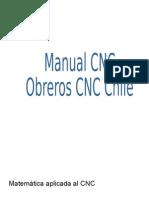 Matemática Aplicada Al CNC
