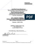 QT-1 Rev J ISO Quality Program