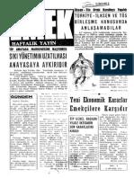 Emek Dergisi (Ek) - Emek Haftalık - 9