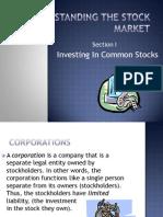 Understanding the Stock Market[1]