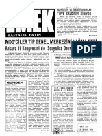 Emek Dergisi -Ek - Emek Haftalik - 10