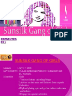 SUNSILK GANG OF GIRLS