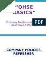 QHSE Basics- IMS and Hazard Identification Training
