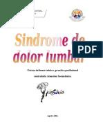 Sindrome de Dolor Lumbar (Kinesiologia)