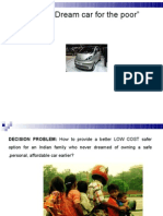 "NANO-""A Dream car for the poor"