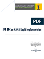 Sierra_DBPM - SAP BPC on HANA Rapid Implementation