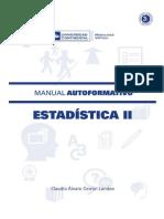 ESTADISTICA II-Claudio Álvaro Cerrón Landeo