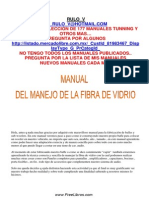 Manual de Fibra de Vidrio