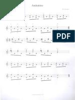Andantino Teste Para Violão 2