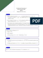 Ejercicios cálculo 1