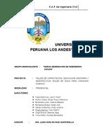 TALLER DE CAPACITACION EDUCACION SANITARIA Y DESINFECCION SOLAR DE AGUA PARA EL CONSUMO HUMANO (1).docx