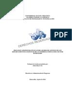 Indicadores de Gestion de Los Departamentos Logisticos Del Sector Petrolero