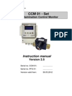 Instruction Manual - Eaton Internormen CCM 01 - Set Contamination Control Monitor, e, 2.5