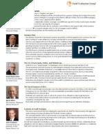 2013 Forum Presentations Key Takeaways