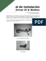 Instalación Driver ID (Ibutton) V1.0
