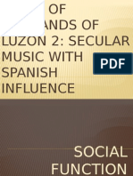 Music of Lowlands of Luzon 2