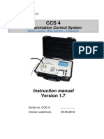 Instruction Manual CCS 4 1.7, e