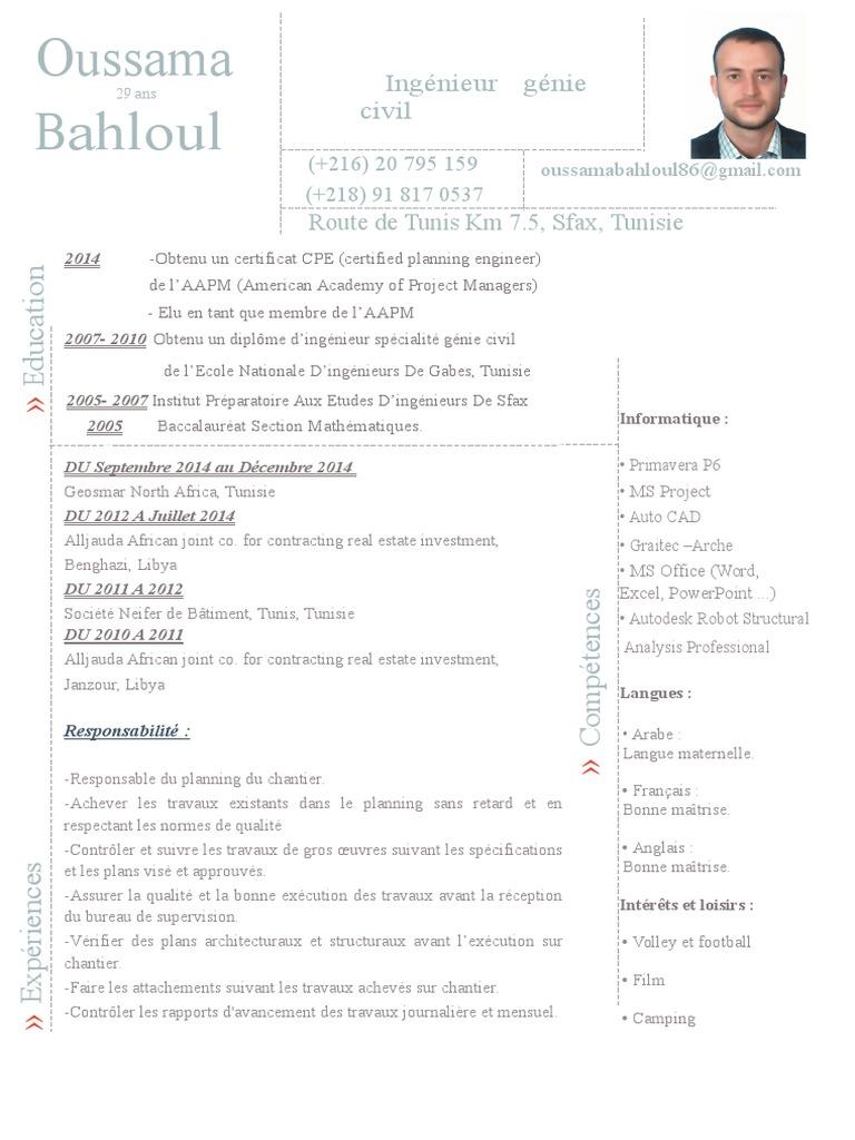 Fein Contract Bauingenieur Lebenslauf Galerie - Bilder für das ...