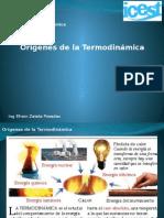 1.1 Origenes y Alcance de La Termodinamica.