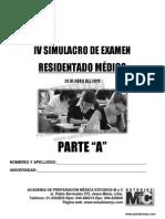SIMULACRO EXAMEN DE RESIDENTADO MEDICO 2015