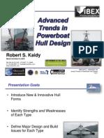 advance trend in Boat design