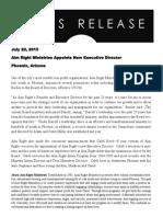 Press Release 7.20.15