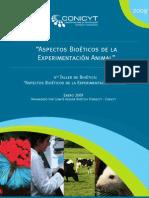 Aspectos Bioeticos de La Experimentación Animal