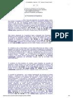 COMPETENCIAS Privativas DO Presidente, Segundo STF