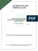 Mattiacci. Law and Philosophy of Mathematics