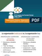 Negociación efectiva. Carlos Cusnier