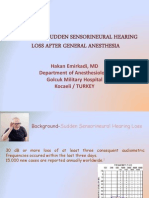 unilateral deafness
