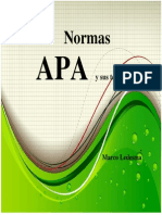 Expresion Oral - Normas Apa