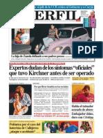 Dudas sobre la historia oficial de la operación a Kirchner