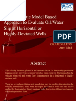 A Mechanistic Model Based Approach to Evaluate Oil